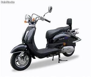 Moto Retro 125 : moto 125cc retro custom estilo habana negra con cromados comoda scooter calidad ~ Maxctalentgroup.com Avis de Voitures