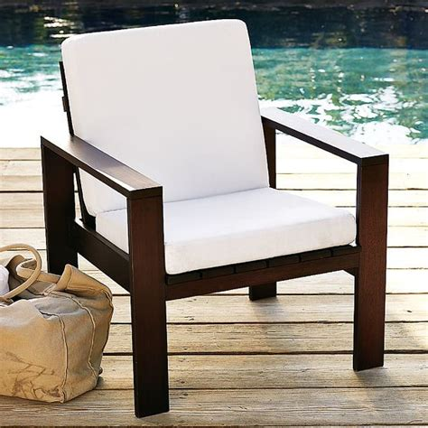 wood slat armchair modern outdoor sofas by west elm