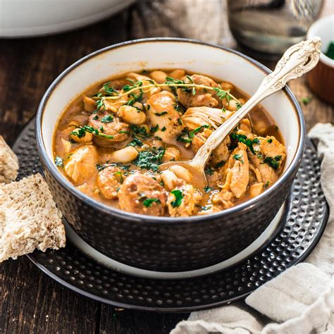 Brazilian Paprika Chicken Stew With White Beans Olivia's