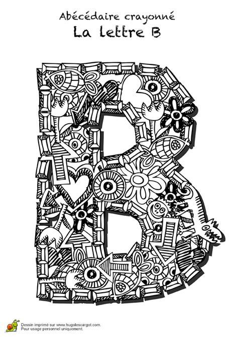 coloriage abecedaire crayonne lettre  sur hugolescargot