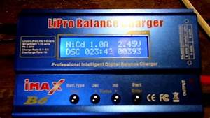 18650 Discharge Capacity Test Imax B6