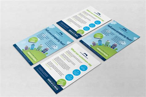 property pamphlet property flyer design