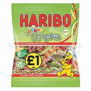Haribo Sour Rainbow Spaghetti £1PMP - Wholesale | Hancocks