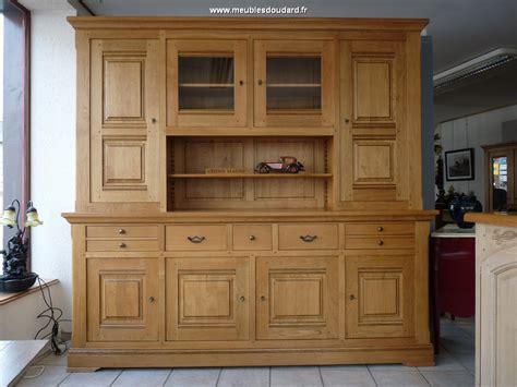 meuble cuisine massif buffet vaisselier rustique bahut vaisselier cagne