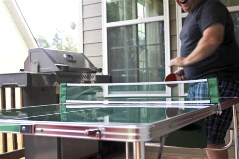 ping pong the original table the original quot master pong quot mini portable lightweight ping