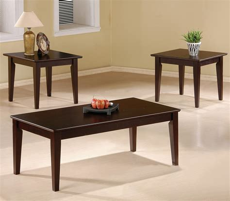 Sofa Table And End Table Set by 3 Occasional Table Sets 3 Occasional Table Set
