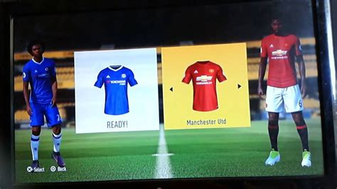Fifa 17 ps3 - Chelsea vs Manchester united (gameplay ...