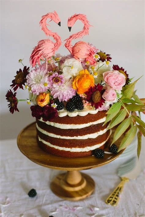 tropical wedding cakes perfect  summer weddings