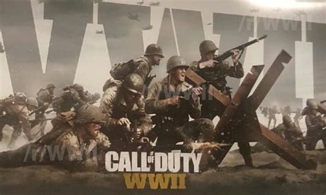 New World War 2 Call Of Duty Game Leaks