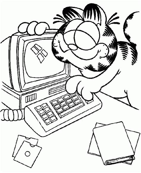 computer coloring pages coloringpagescom