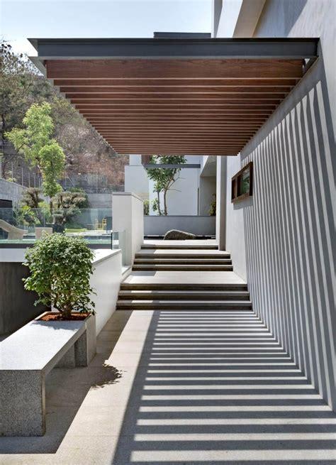 überdachung Terrasse Modern by Terrasse Couverte En Bois Moderne Mailleraye Fr Jardin