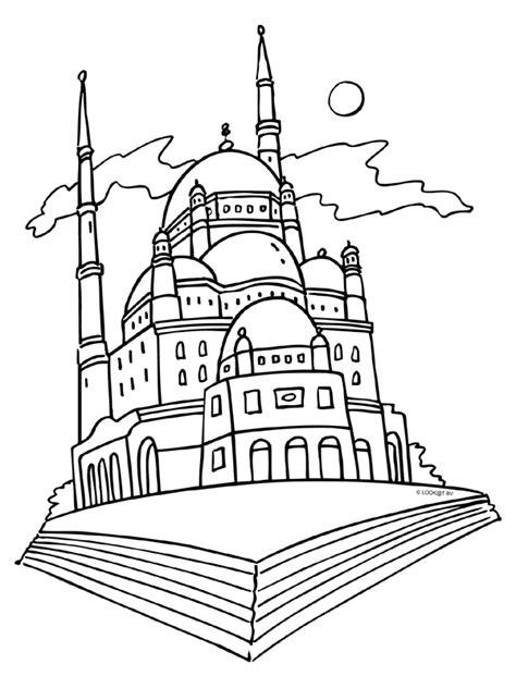 Kleurplaat Indonesie by Kleurplaat Moskee Moskee 235 N Minaretten Kleurplaten Nl
