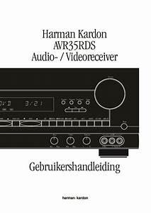 Harman Kardon Avr 35  Serv Man10  User Guide    Operation