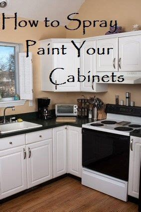 kitchen cabinets spray paint professionally 11 painted kitchen cabinets that look surprisingly 8145
