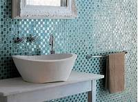 glass tile bathroom Two Great Bathroom Tile Choices for the Contemporary ...