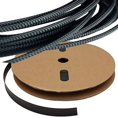 Auto Wire Harnes Cover by China Black Expandable Braided Sleeving Auto Wire Harness