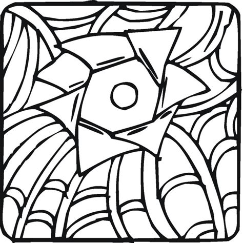 Cool Coloring Designs by Cool Geometric Design Coloring Pages Getcoloringpages