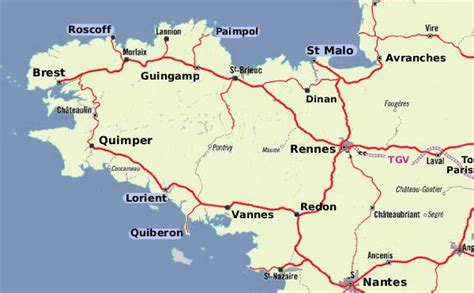 maps  brittany