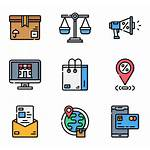 Ecommerce Packs Icon Icons Svg Vector