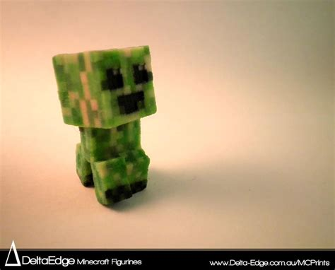 minecraft figurines  printed  real life playing