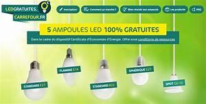 Ampoules Gratuites Edf : carrefour offre 5 ampoules led gratuites le bon plan ~ Melissatoandfro.com Idées de Décoration