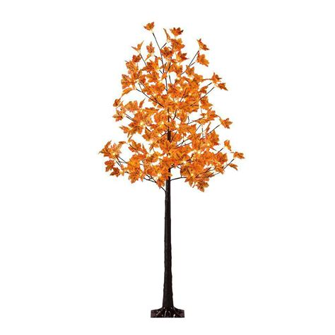proht 6 ft maple tree with 120 warm white lights fys6ft
