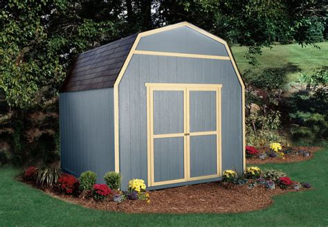 10x10 barn shed with loft traditional garage and shed