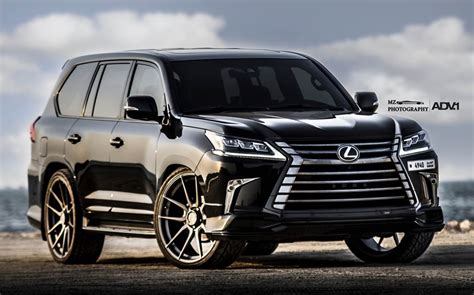 "Lexus Lx570 On 26"" Adv1 Wheels"