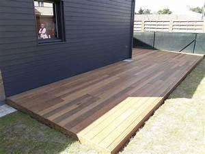 Terrasse Bois Exotique : pornic terrasse en bois sbm lames de terrasse bois 44 ~ Melissatoandfro.com Idées de Décoration