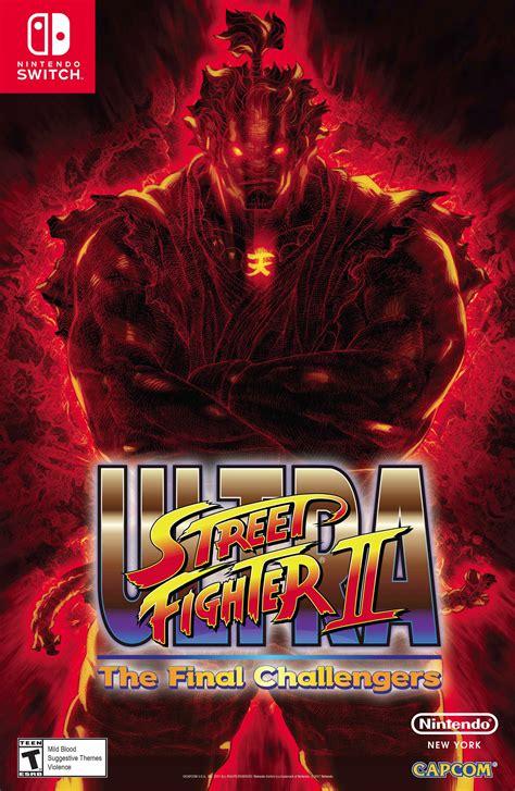 Nintendo Swich News May 26 Ultra Street Fighter Ii