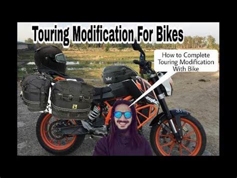 Modification Motor Touring by Best Touring Modification For Ktm Duke Radiator