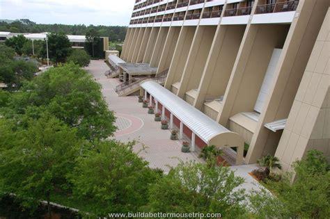 contemporary garden wing disney s contemporary resort hotel build a better mouse trip