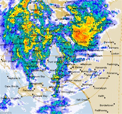 spectacular lightning as thunderstorms hit adelaide daily mail