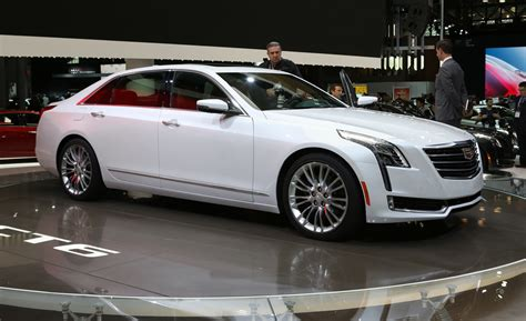 Cadillac Car : 2016 Cadillac Ct6 Is The Next Generation Of Executive Car