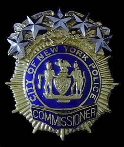 Nypd Commissioner Badge | www.pixshark.com - Images ...