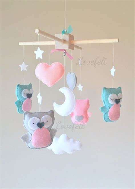 Mobile Babybett Selber Machen by Baby Mobile Owl Mobile Baby Crib Mobile Baby Mobile
