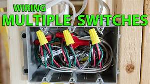 How To Wire A Multiple Gang Switch Box Rough In