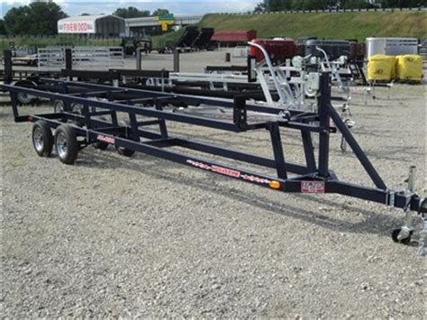Used Pontoon Boat Trailers For Sale In Ohio by Pontoon Flatbed Dump Utility And Enclosed Cargo