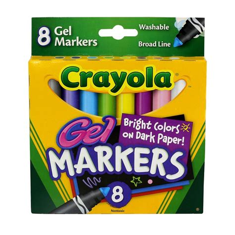 Crayola® Washable Gel Markers Michaels® Markers Cool