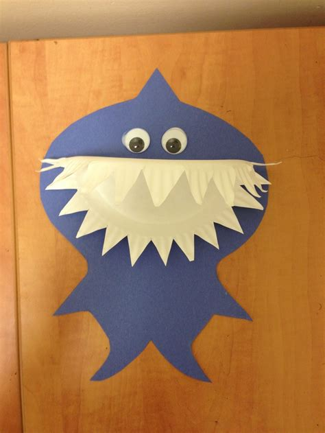 preschool paper plate shark craft preschool 850 | 475220424778a6ab05d53a3392762ba7
