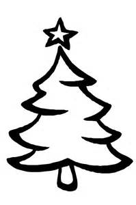 Christmas Tree Coloring Pages Kids