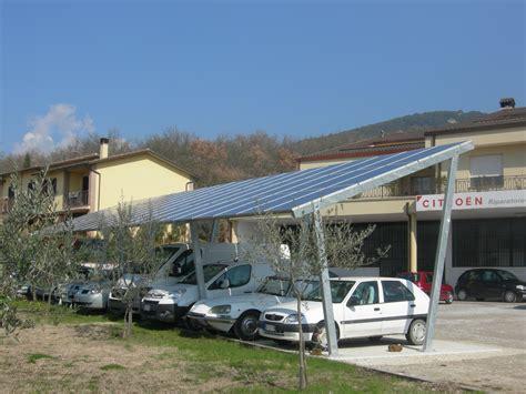 tettoie fotovoltaiche pensiline fotovoltaiche biotec coperture