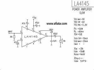 Electronic Circuit Diagram Low Distortion Audio Amplifier
