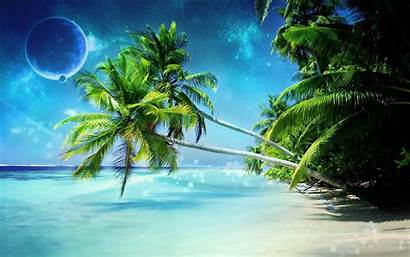 Tropical Desktop Wallpapers Beach Nature Animated Beaches