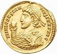 Roman Empire AV Solidus, Constantius II (A.D. 337 - 361 ...