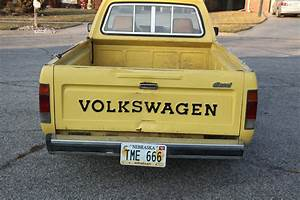 1981 Vw Volkswagen Mk1 Rabbit Lx Diesel Pickup Caddy Truck