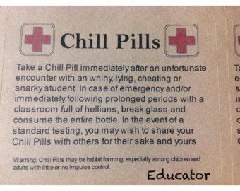 personalized chill pill gifts   pick  theme