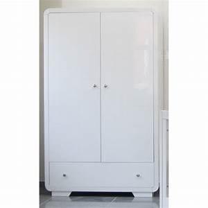 Kleiderschrank 2 Türig Weiß : kleiderschrank 2 t rig yves hochglanz in wei baby m bel kleiderschr nke ~ Indierocktalk.com Haus und Dekorationen