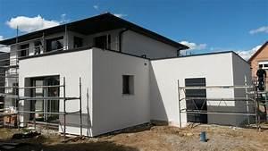 isolation construction de notre maison dans le haut rhin With maison grise et blanche