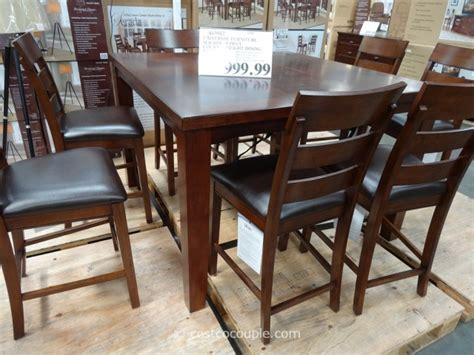 Kirkland Home Dining Chairs by Universal Furniture Serada 9 Piece Counter Height Dining Set